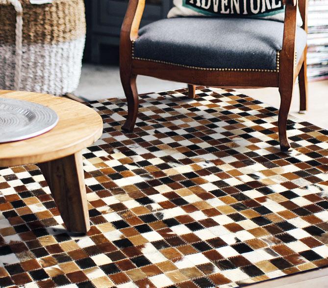 gamme tapis cuir